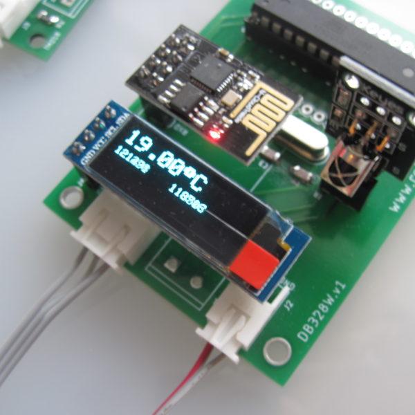 Логгер температур на базе ATmega328